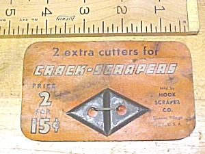 Hook Scraper Co. Crack Scraper Blades