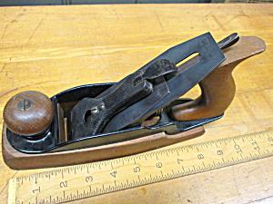 Stanley No. 35 Smooth Wood Bottom Plane Nice! (Image1)