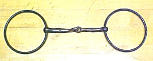Horse Bridle Bit Jointed Snaffle Iron (Image1)