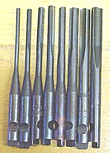 Yankee Push Drill Point Set Drill Bit Set Of 8