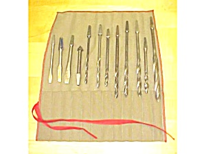 Brace Drill Auger Bit Set Of 8 For Wood Type & Roll