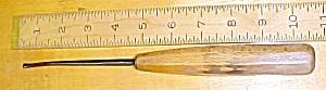 S. J. Addis Bent Front Gouge Carving Chisel 1/4 inch (Image1)