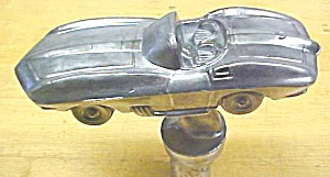 Corvette 1960's Trophy Ornament Paperweight Cast Metal
