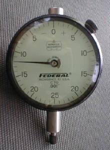 Federal Precision Dial Indicator