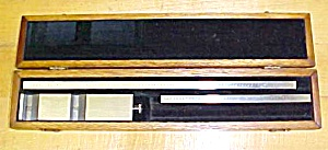 Vernier Depth Gage Gauge w/ Fitted Case Unique! (Image1)
