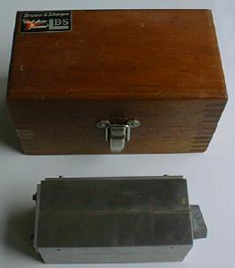 Brown & Sharpe Magnetic Block No. 760 & Fitted Case (Image1)