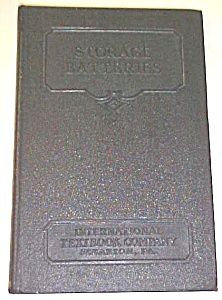 Storage Batteries 1939 International Textbook
