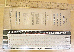 Allied's Parallel-resistance Capacitance Calculator