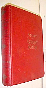 Young People's Story of American Achievements 1901 Rare (Image1)