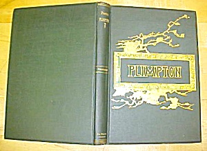Florus B. Plimton Poems 1886 Poetry Book First Edition