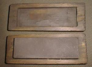 Nice Older 2 X 6 Inch Sharpening Stone W/wood Case