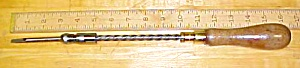 Goodell Bros. Spiral Screwdriver Ca. 1890's (Image1)