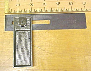Stanley Adjustable Try Square Double Square No. 14 Rare