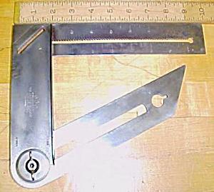 M.A.D. Combination Square The Square Mfg. Co. Ohio Rare (Image1)