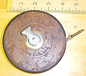Lufkin Tape Measure 50 Foot Round Leather Measuring (Image1)