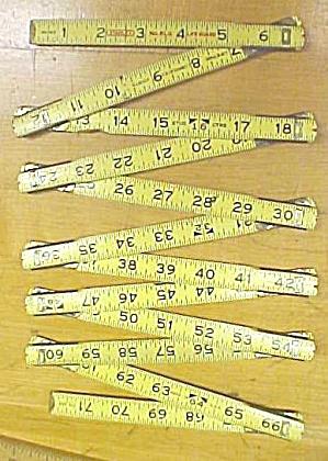 Stanley 6LG ReZig-Zag Folding Rule 72 inch Lifeguard (Image1)