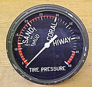 Dukw Tire Pressure Gauge Wwii Amphibious Vehicle