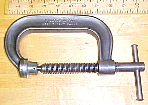 J. H. Williams 4 inch Heavy Duty C-Clamp CC-404 (Image1)