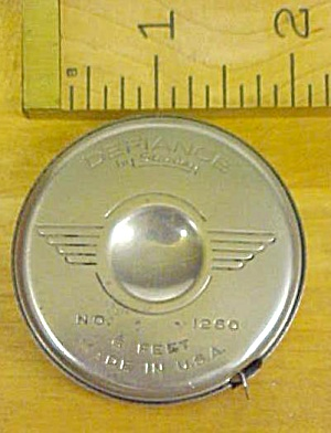 Stanley Tape Measure Defiance Round Steel No. 1260 (Image1)