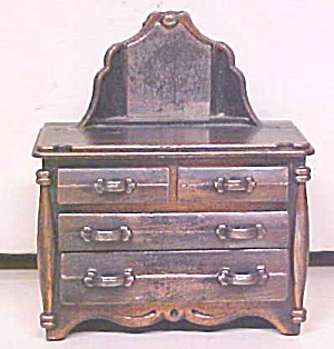 Durham Doll House Dresser 4 Drawer Diecast Metal (Image1)