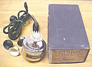 Star Vibrator Antique Set Fitzgerald Mfg. + Box (Image1)