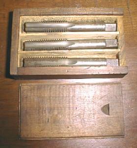 Bay State Taps Boxed Tap Set 9/16-12 Wood Box (Image1)