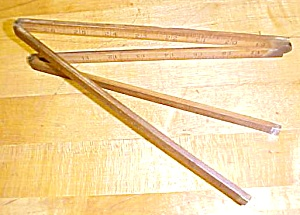 Lufkin Folding Rule 3 ft. No. 3851 Boxwood (Image1)