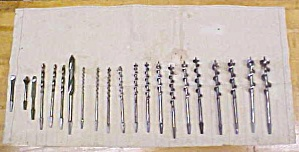 Greenlee Brace Auger Bit Set w/Tool Roll & More (Image1)