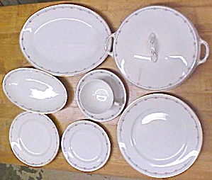 Crooksville China Dinnerware Set W/extras 56 Piece