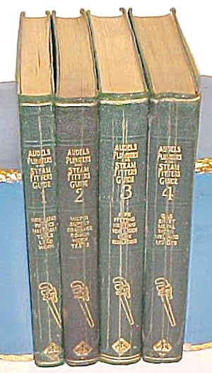 Audels Plumbers & Steam Fitters Guide Set 1925 Rare (Image1)