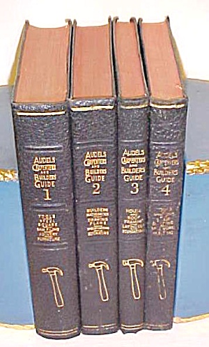 Audels Carpenters & Builders Guide Set 1940's