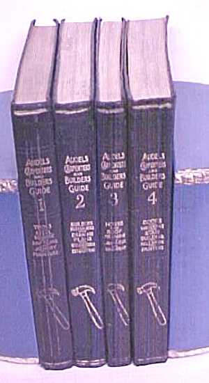 Audels Carpenters & Builders Guide Set 1923 First Ed. (Image1)