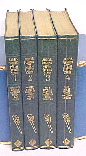 Audels Plumbers & Steam Fitters Guide Set 1925 1st Ed. (Image1)