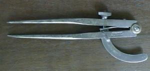 Johnson Wing Divider Compass
