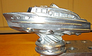 Cabin Cruiser Trophy Ornament Paperweight Cast
