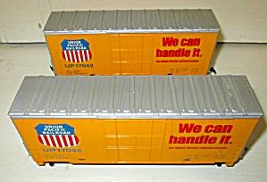 Train Cars HO Scale Union Pacific Railroad Box Car (Image1)