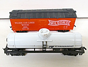 Train Cars HO Scale Wilson & Cyanamid (2) Cars (Image1)