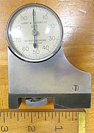 Dietert Slot Groove Depth Gauge Dial Indicator Gage