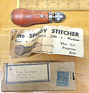 Speedy Stitcher Canvas Sewing Awl