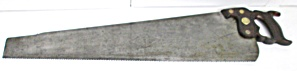 Shapleigh Hardware Rip Hand Saw No. 165-5 TPI-28 inch (Image1)
