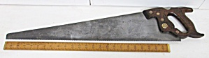 Disston D-15 Victory Crosscut Hand Saw 26 Inch