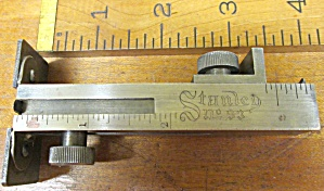 Stanley No. 93 Butt & Rabbit Gauge Gage (Image1)