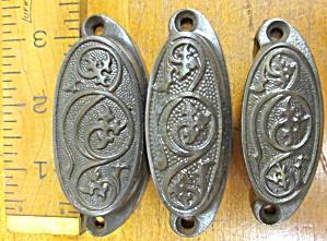 Antique Drawer/Bin Pulls Ornate Hardware (Image1)