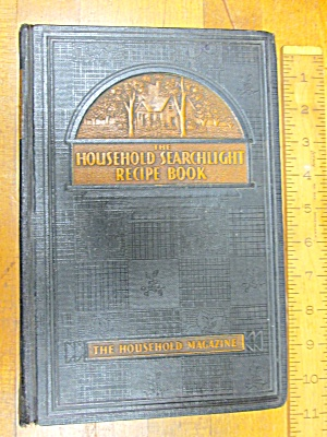 Household Searchlight Recipe Book 1939 Cookbook