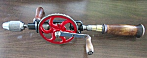 Millers Falls No. 98 Hand Drill 2-Speeds Rare! (Image1)