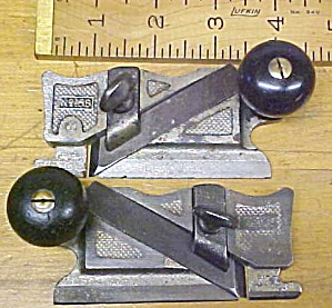 Stanley No. 98 & 99 Side Rabbet Plane Pair