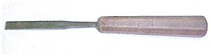 Culter Cast Steel Flat Carving Chisel (Image1)