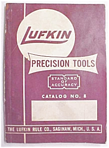 Lufkin No. 8 Catalog Machinist Tools (Image1)
