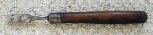 "K. Birks 9/16"" Tanged Chisel Sheffield"