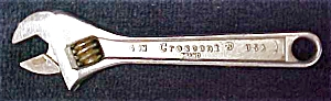 """Crescent 4"""" Adjustable Wrench (Image1)"""